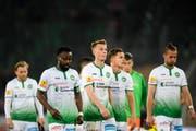 Für den FC St.Gallen war die Niederlage gegen den FC Thun die zweite in Serie. (Bild: Keystone)