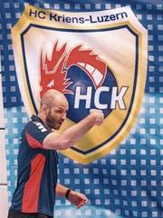 Ist stolz auf sein Team: HCK-Trainer Heiko Grimm. (Bild: Roger Gruetter (Luzern, 13. Dezember 2016))