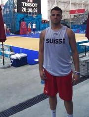 Nikola Stevanovic kehrt zu Swiss Central Basket zurück. (Bild: PD)