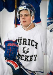 «Wunderkind» Auston Matthews. (Bild: Keystone/Anthony Anex)