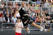 Mit fünf Treffern bester Krienser: Yves Mühlebach. (Archivbild Philipp Schmidli)