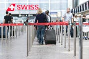 Die Zahl der Geschäftsreisen via Flugzeug stagniert. (Bild: Keystone)