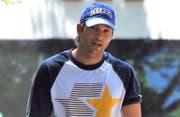 Ashton Kutcher, einer der Hauptdarsteller der TV-Serie «Two And A Half Men» in Hollywood. (Bild: bangshowbiz / Splash News)