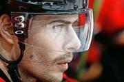Die Rückkehr von Verteidiger Rafael Diaz (hier im März als Spieler der Calgary Flames) bedeutet für den EV Zug eine klare Verstärkung der Defensive. (Bild: Getty/Gerry Thomas)