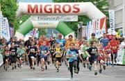 Die Migros steht für den Nachwuchs ein: Alle Kinder in den Kategorien der Schüler-Mannschaftsläufe profitieren in Luzern von einem Gratisstart.