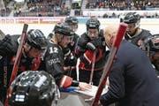 Die erste Zuger Hürde: das finnische Team JYP Jyväskylä. (Bild: Getty (Jyväskylä, 8. November 2016))