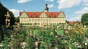Piekfein: Schloss Weikersheim zieht sogar Gruppen aus Übersee an.