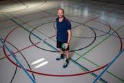 «Physisch wird uns das Spiel viel abverlangen.» Heiko Grimm, Trainer HC Kriens-Luzern. (Bild: Philipp Schmidli (29.08.2017))
