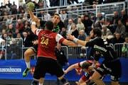 Mit dem Sieg gegen Winterthur hat sich der HCK wichtige Punkte um die Playoffs errungen. (Bild: Maria Schmid / Neue LZ)