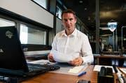Ist gefordert: EVZ-Sportchef Jakub Horak. (Bild: Roger Grütter / Neue LZ)