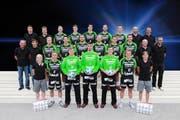 Das Team des HC Kriens-Luzern, Saison 2012/2013. (Bild: PD)