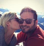 Sind seit September getrennt: Dominique Rinderknecht und ihr langjähriger Freund Goek Gürsoy. (Bild: instagram.com dominique_rinderknecht)