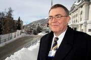 Schindler-CEO und -Verwaltungsrats-Präsident Alfred N. Schindler. (Bild André Häfliger/Neue LZ)