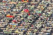Der Marktplatz Dolac wird auch der «Bauch von Zagreb» genannt. (Bild: Zagreb Tourist Board/P. Macek)