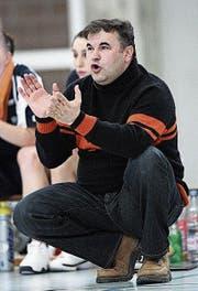 Milenko Tomic im Januar 2009 als damaliger Brunnen-Trainer. (Bild: Philipp Schmidli)