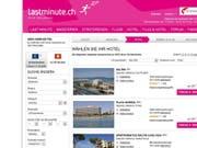 Mit Plattformen wie Lastminute.ch oder Bravofly.com schreibt das Internetreisebüro Lastminute.com mit Sitz im Tessin derzeit noch rote Zahlen. (Bild: Screenshot)
