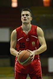 Nemanja Kovacevic spielte bisher beim KK Gradjanski in Bosnien Herzegowina. (Bild: pd)