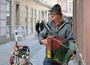 Strassenmusiker in der Grazer Altstadt. (Bild: Karte oas)