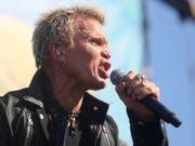 Billy Idol rockte am 2. Oktober 2015 in Austin, Texas. (Bild: AP Invision/JACK PLUNKETT)