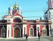 Eine der vielen Kirchen in der Warwaka-Strasse in der Nähe des Kreml. (Bild Julia Barandun)