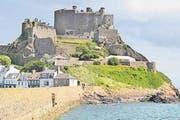 Gorey Castle auf der Kanalinsel Jersey. (Bild: Fritz Hiersche)