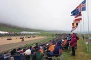 Alle zwei Jahre findet in Island das Landsmót, das grösste Pferdeturnier des Landes, statt. (Bild: Alexandra Gächter)