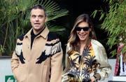 Cameron Diaz rettete die Beziehung von Robbie Williams und Ayda Field. (Bild: bang)
