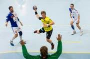 Jost Brücker, hier in einem Spiel mit TSV St. Otmar St. Gallen. (Bild: Archiv Keystone)