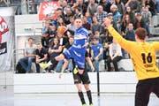 Archivbild: HC Kriens gegen Pfadi Winterthur in der Maihofhalle Luzern. (Bild: Roger Gruetter (Luzern, 17. April 2017))