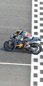 Beendet die offiziellen MotoGP-Testfahrten als 24. und Letzter: der Berner Tom Lüthi. (Bild: Imago (Buriram, 18. Februar 2018))