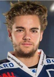 Der EVZ nimmt Sandro Zangger (20) bis 2017 unter Vertrag. (Bild: PD)