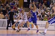 Josh Sparks, links, geht kommenden Saison für Swiss Central Basket auf Korbjagd. (Bild: Silviu Cristea Photography)