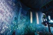 Die neueste Attraktion in Wittenberg ist das «360-Grad-Panorama 1517» von Yadegar Asisi, das im Zeitraffer die Ereignisse von vor 500 Jahren ins Szene setzt. (Bild: asisi/Tom Schulze)