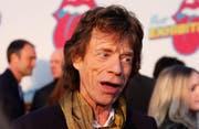 Mick Jagger ist besorgt, zu alt für die Vaterrolle zu sein. (Bild: bang)
