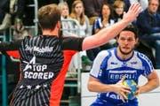 Die Kadetten vermochten den HC Kriens knapp vom Sieg abzuhalten. (Bild: Benedikt Anderes / HC Kriens-Luzern)