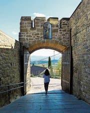 Im baskischen Laguardia. (Bild: srt)