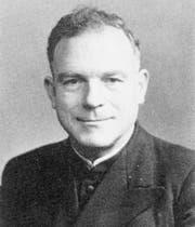 Pfarrer Otto Müller war von 1934 bis 1944 Vereinspräsident.