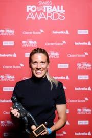 Lara Dickenmann ist Fussballerin des Jahres. (Bild: Manuel Lopez (Rapperswil, 28. August 2017))