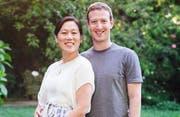 Priscilla Chan und Mark Zuckerberg (Bild: Bangshowbiz)