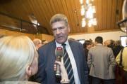 Der Hoffnungsträger der CVP, Boris Tschirky, unterlag im zweiten Wahlgang. (Bild: Ralph Ribi)