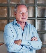 Der umstrittene ehemalige Verleger und Chefredaktor der «Obersee-Nachrichten», Bruno Hug. (Bild: Dominic Steinmann)