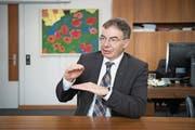 «Mit dem guten Ruf der Ostschweiz als Freizeit- und Erholungsraum ist es nicht getan»: HSG-Rektor Thomas Bieger (Bild: Urs Bucher)