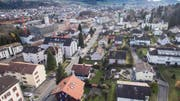 Bereits 2017 kam es zum Schulstreit im Quartier Bruggwald an der Grenze zwischen Wittenbach und St.Gallen. (Bild: Ralph Ribi)