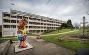 Heutiger Standort des Ostschweizer Kinderspitals im Osten der Stadt St. Gallen; es zügelt auf das Areal des Kantonsspitals St. Gallen. (Bild: Urs Bucher (St. Gallen, 11. Dezember 2014))