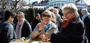 Eiertütschen und Eierlikör gehören traditionell zur Eröffnungsfeier. (Bild: Yvonne Aldrovandi-Schläpfer)