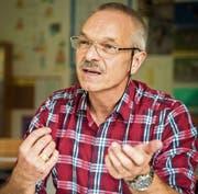 Christoph Stäheli aus Schönenberg an der Thur kandidiert für das Amt des Präsidenten der Volksschul- gemeinde Region Sulgen. (Bild: Reto Martin)