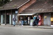 Der Kiosk neben der Bergstation der Mühleggbahn ist eine Institution. Er schliesst Ende Woche. (Bild: Sabrina Stübi)