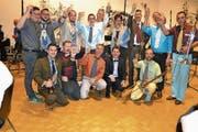 Fihuspa feierte Ende Oktober den Titel als beliebteste Blaskapelle der Schweiz. (Bild: SRF)