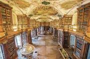 St.Gallen hat einiges an Kultur zu bieten, etwa die Stiftsbibliothek. (Bild: (Urs Bucher))
