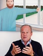 In Kauf- und Prozessierlaune: Unternehmer Bruno Hug. (Bild: Moritz Hager)
